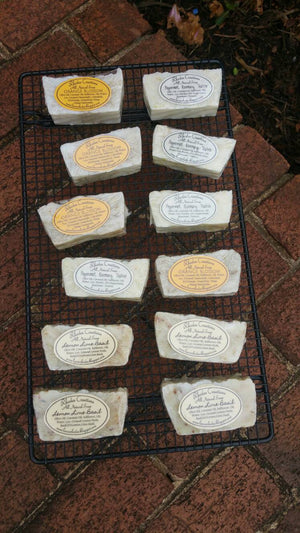 All Natural Handmade Orange Blossom Soap