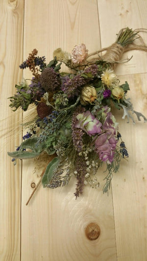 Spring Dream Hanging Dried Floral Bouquet
