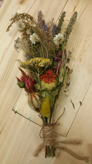 Nature's Bounty Dried Herb*Home Decor* Dried Floral Ornament- Autumn Vintage Farmhouse theme Decoration* All Natural from Nature