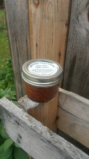 Old Fashioned Orchard Fresh Apple Butter: Sugar Free-4 oz