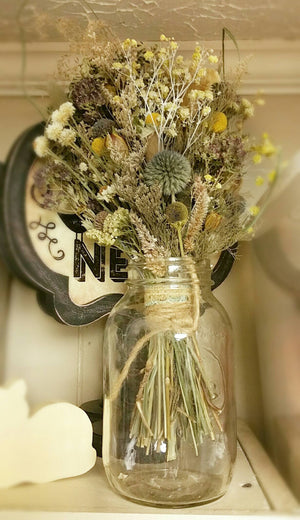 Serenity Limited Edition Hanging Dried Floral Bouquet