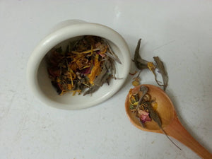 Herbal Facial Steam*Comfrey, Chamomile*Rose*Calendula*Mint*Sage*Lavender