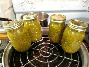 Green Salsa Verde Homemade Canned pint jar*Mild
