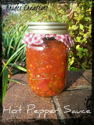 Hot Pepper Sauce*Extra Spicy 16 oz