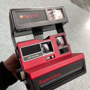Polaroid Supercolor Red 600 Camera