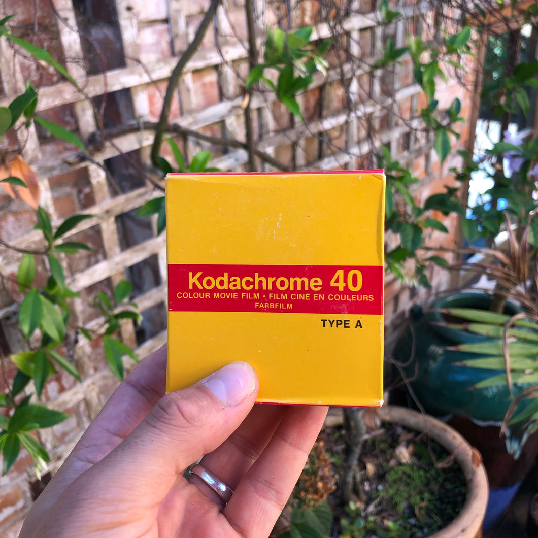 Expired Kodachrome 40 Super 8