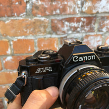 Load image into Gallery viewer, Canon AV-1 in black