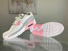 Load image into Gallery viewer, Nike Air Max 90 White/ Pink/ Grey/ Silver - Women's 8.5