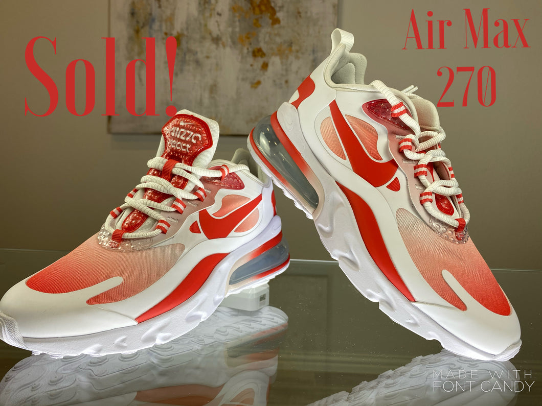 Nike Air Max 270 - Red/White