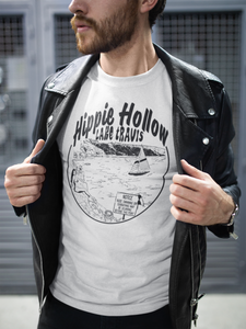 """Hippie Hollow Lake Travis"" Men's Tee"