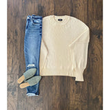 Miranda Knit Sweater|READY TO SHIP