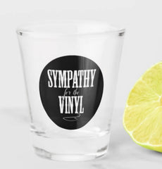 RockonWallUSA - Sympathy for the Vinyl Shot Glass