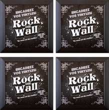 Load image into Gallery viewer, RockonWallUSA - Set of 4 vinyl record frames to display your favorite album on the wall