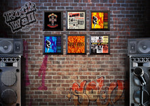 Load image into Gallery viewer, RockonWallUSA - Set of 6 vinyl record frames to display your favorite album on the wall. Shown with GnR records.