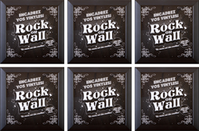 Load image into Gallery viewer, RockonWallUSA - Set of 6 vinyl record frames to display your favorite album on the wall.