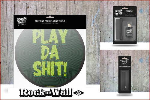 Gift set Play da Shit Felt slip mat by RockonWallUSA
