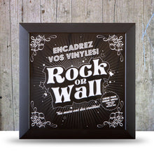 Load image into Gallery viewer, Vinyl Record LP Album Display Frame - black