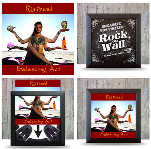 Insert your favorite vinyl album in the Easy Frame. Ready to hang in Seconds. At RockonWallUSA