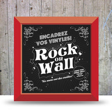 Load image into Gallery viewer, Vinyl Record LP Album Display Frame - Red.