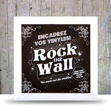 Load image into Gallery viewer, Vinyl Record LP Album Display Frame -White.