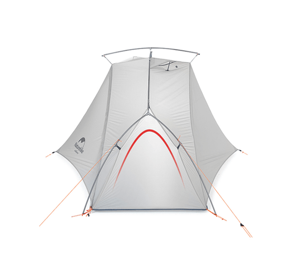 VIK Series Single Ultralight Hiking Tent - Light Grey