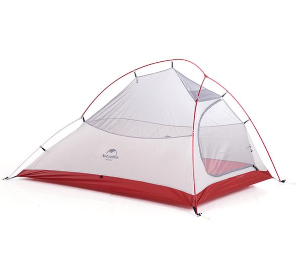 Cloud Up 2 Ultralight Hiking Tent 1.4kg - Light Grey Upgraded