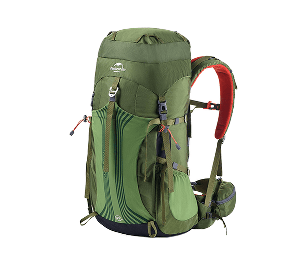 Hiking Backpack Lightweight 55L - Green