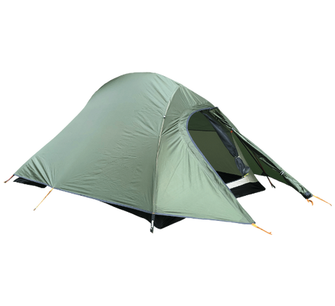 Hiking Tent | Illumina X | Forest Green | Ultralight | Camping GearProduct Featured image