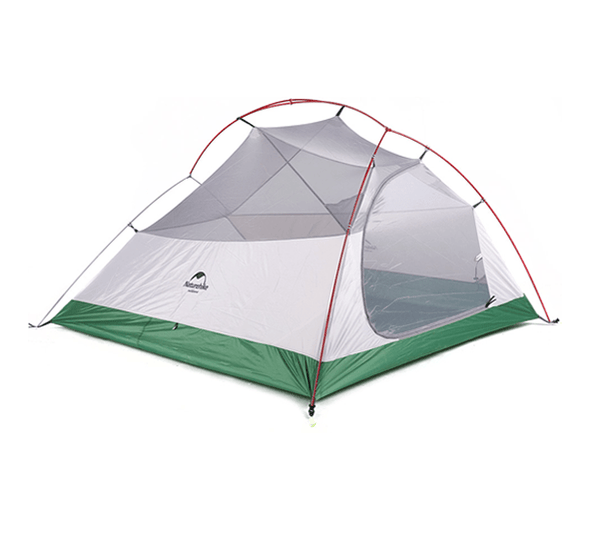 Cloud Up 3 Ultralight Hiking Tent 2kg - Green Upgraded