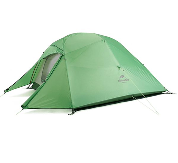 Cloud Up 3 Ultralight Hiking Tent - Green Upgraded