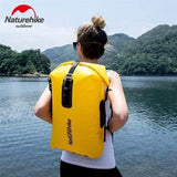 TPU Dry-Wet Separating Waterproof Bag 28L - Apricot Yellow