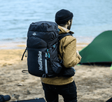 Backpack | Camping Backpack | Black | 45L | Camping Gear