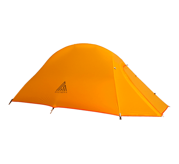 Illumina X 1.35kg Ultralight Hiking Tent - Amber