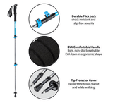 Hiking Poles | Men | Ultralight | Compact | Novapro Sports NZ