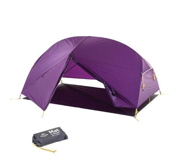 Mongar Ultralight Hiking Tent 1.9kg – Purple