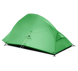 Cloud Up 2 Ultralight Hiking Tent 1.7kg - Green Upgraded