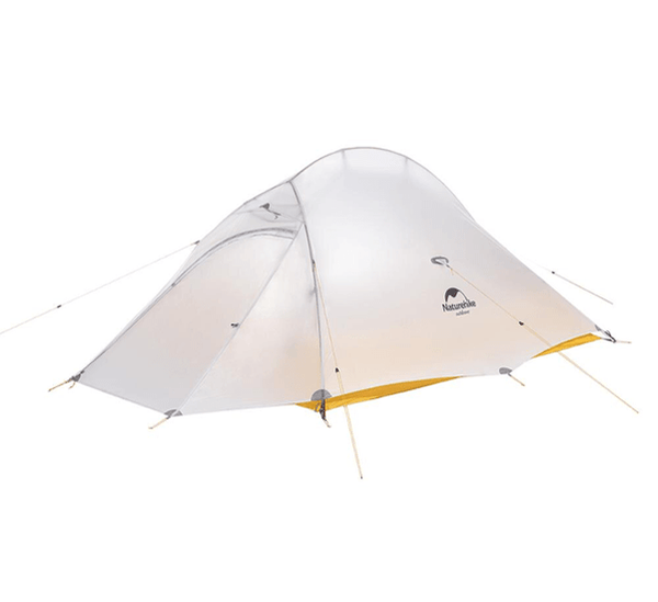 Cloud Up 2 - 10D Ultralight Hiking Tent - Light Grey