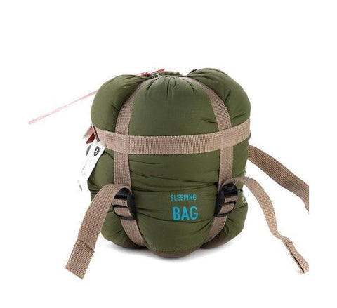 Compact Ultralight Sleeping Bag Naturehike 0.72kg – Army Green (Right)
