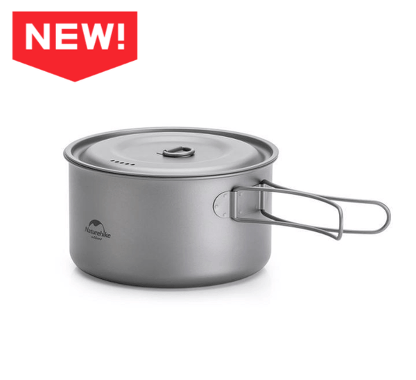 Lightweight Cookware Outdoor Camping Pot