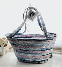 Load image into Gallery viewer, Large Market Tote Basket #1363