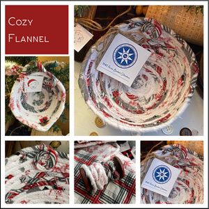 Cozy Flannel - Create Your Own Baskets and Trivets
