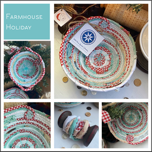Farmhouse Holiday - Create Your Own Baskets and Trivets
