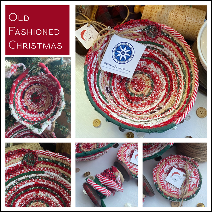 Old Fashioned Christmas - Create Your Own Baskets and Trivets