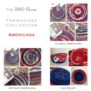 Americana Fabric Themes at 1840 Farm