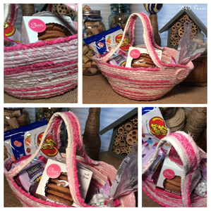 Easter Basket Collage at 1840 Farm
