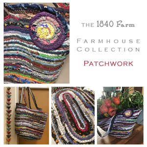 Patchwork Fabric Theme at 1840 Farm
