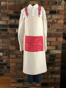 Natural Unbleached Farmhouse Apron