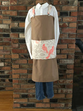 Load image into Gallery viewer, Camel Brown Farmhouse Apron