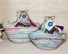Load image into Gallery viewer, Medium and Large Handmade Easter Baskets at 1840 Farm