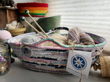 Load image into Gallery viewer, Medium Farmhouse Trug Basket #1487